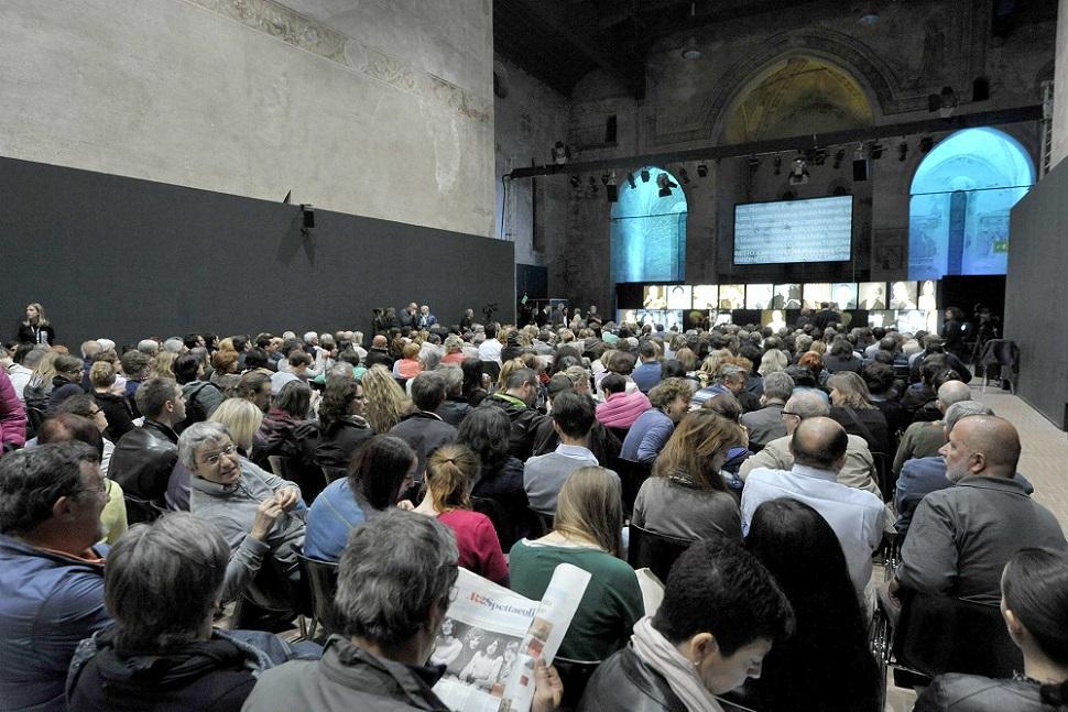 Udine, 12/05/2014 - Vicino Lontano 2014 - Ex Chiesa di San Francesco - PUBBLICO - Foto Luca d'Agostino/Phocus Agency © 2014