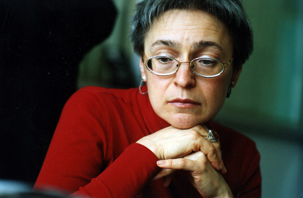 Anna Politkovskaja, Premio Terzani 2007