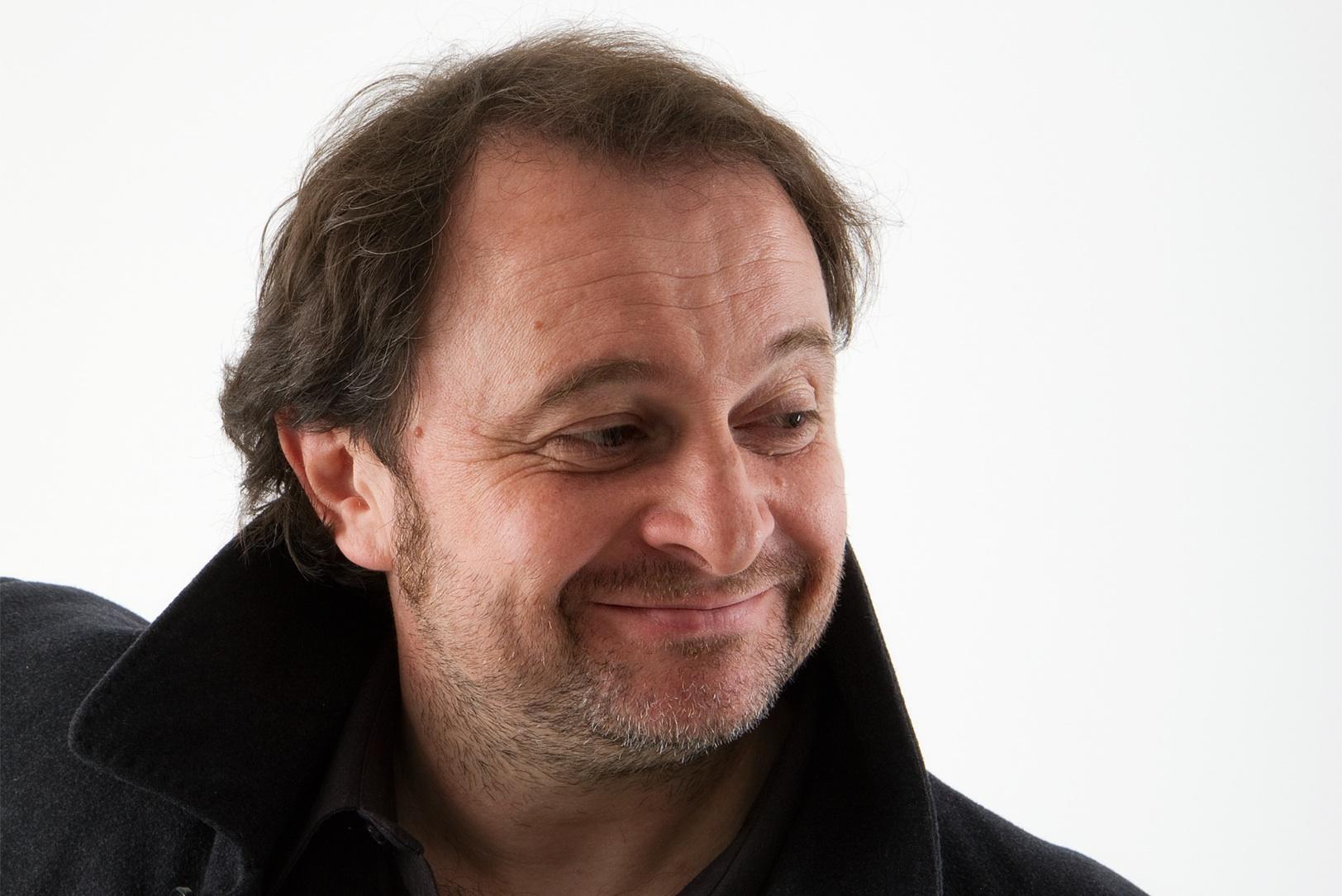 Natalino Balasso in scena con Gian Antonio Stella