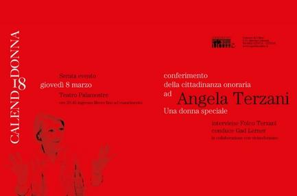 La serata evento per Angela Terzani