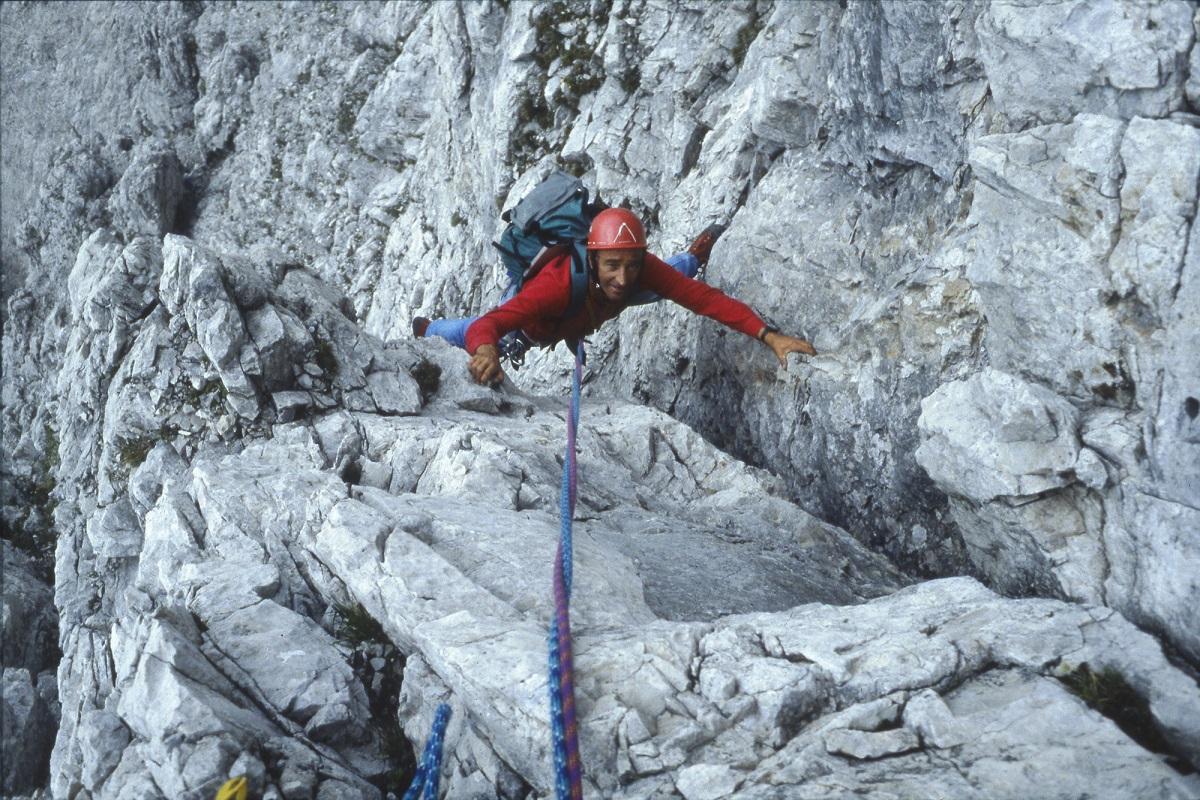 L'omaggio al grande alpinista Sergio De Infanti
